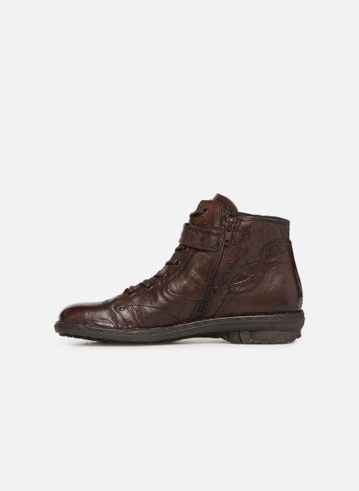 Boots en enkellaarsjes Khrio Polacco 1000 Bruin voorkant