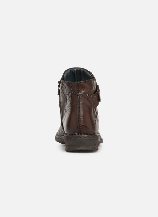 Ankle boots Khrio Polacco 1000 Brown view from the right
