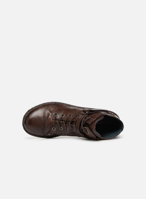 Boots en enkellaarsjes Khrio Polacco 1000 Bruin links