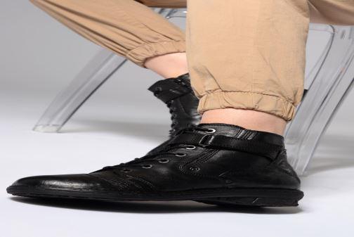 Stiefeletten & Boots Khrio Polacco 1000 schwarz ansicht von unten / tasche getragen