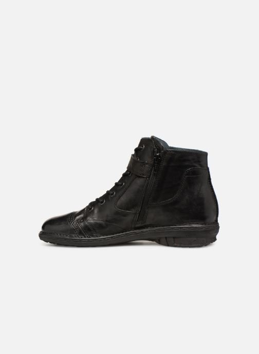 Ankle boots Khrio Polacco 1000 Black front view