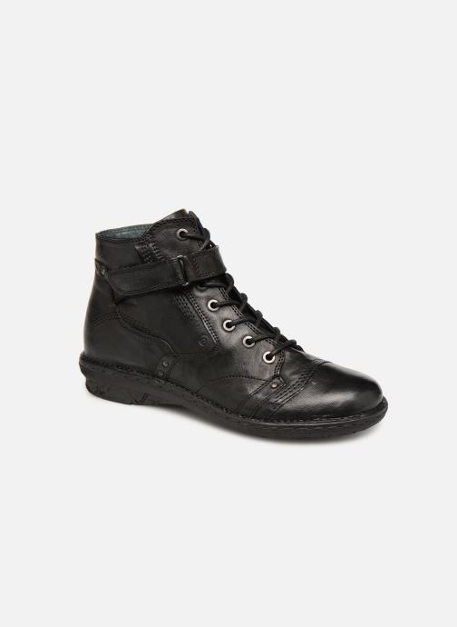 Ankle boots Khrio Polacco 1000 Black detailed view/ Pair view
