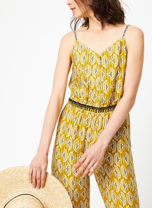 Vêtements See u soon 9191172 Jaune vue droite