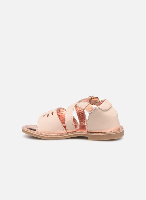 Sandales et nu-pieds CARREMENT BEAU SANDALETTES Y99039 Rose vue face