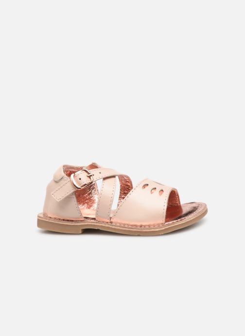 Sandales et nu-pieds CARREMENT BEAU SANDALETTES Y99039 Rose vue derrière