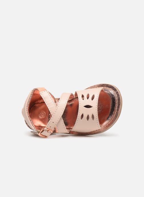 Sandales et nu-pieds CARREMENT BEAU SANDALETTES Y99039 Rose vue gauche