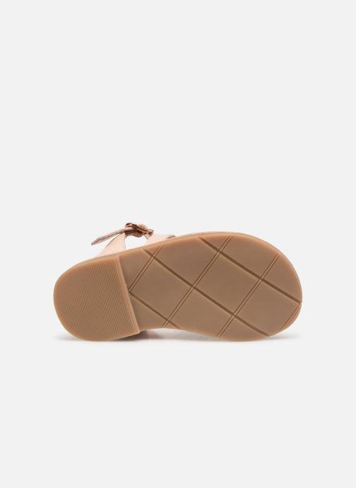 Sandales et nu-pieds CARREMENT BEAU SANDALETTES Y99039 Rose vue haut