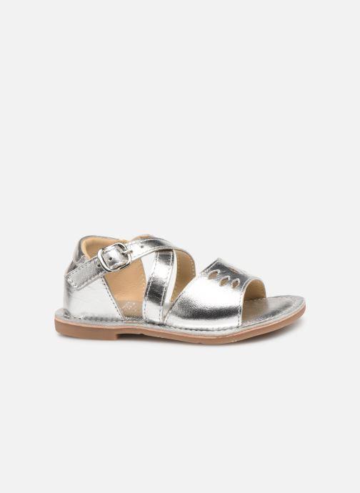 Sandales et nu-pieds CARREMENT BEAU SANDALETTES Y99039 Argent vue derrière