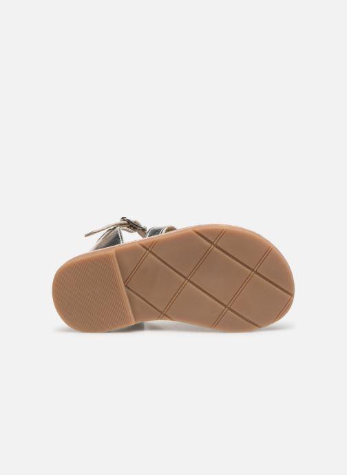 Sandales et nu-pieds CARREMENT BEAU SANDALETTES Y99039 Argent vue haut