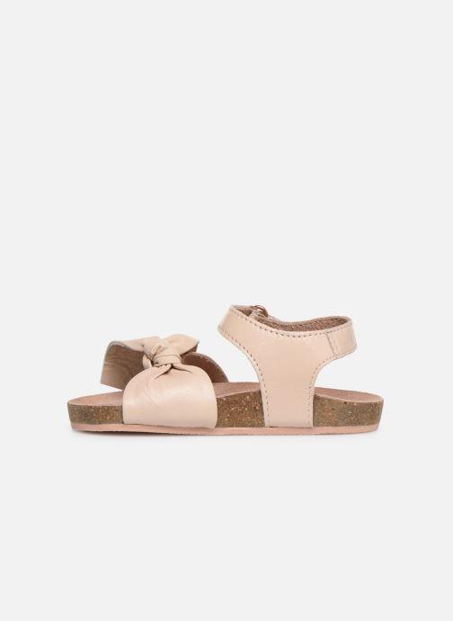Sandales et nu-pieds CARREMENT BEAU SANDALES NŒUD Y99038 Rose vue face