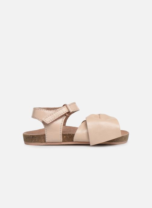 Sandales et nu-pieds CARREMENT BEAU SANDALES NŒUD Y99038 Rose vue derrière