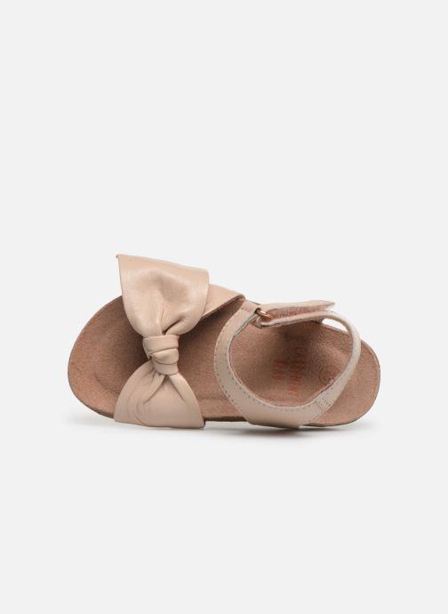 Sandales et nu-pieds CARREMENT BEAU SANDALES NŒUD Y99038 Rose vue gauche