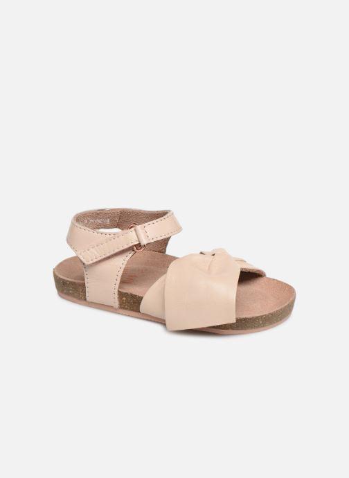 Sandales et nu-pieds CARREMENT BEAU SANDALES NŒUD Y99038 Rose vue détail/paire