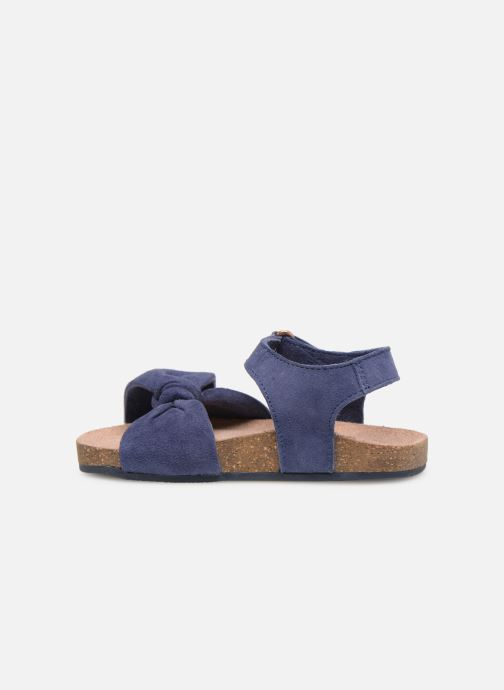 Sandales et nu-pieds CARREMENT BEAU SANDALES NŒUD Y99038 Bleu vue face