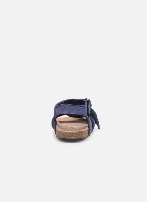 Sandales et nu-pieds CARREMENT BEAU SANDALES NŒUD Y99038 Bleu vue droite