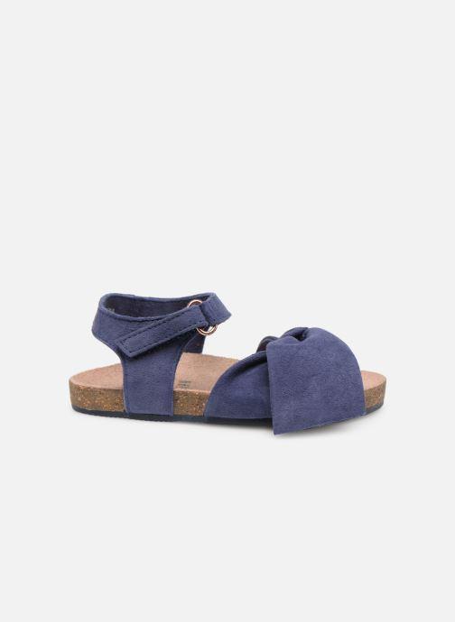 Sandales et nu-pieds CARREMENT BEAU SANDALES NŒUD Y99038 Bleu vue derrière