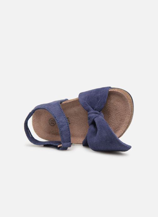 Sandales et nu-pieds CARREMENT BEAU SANDALES NŒUD Y99038 Bleu vue gauche