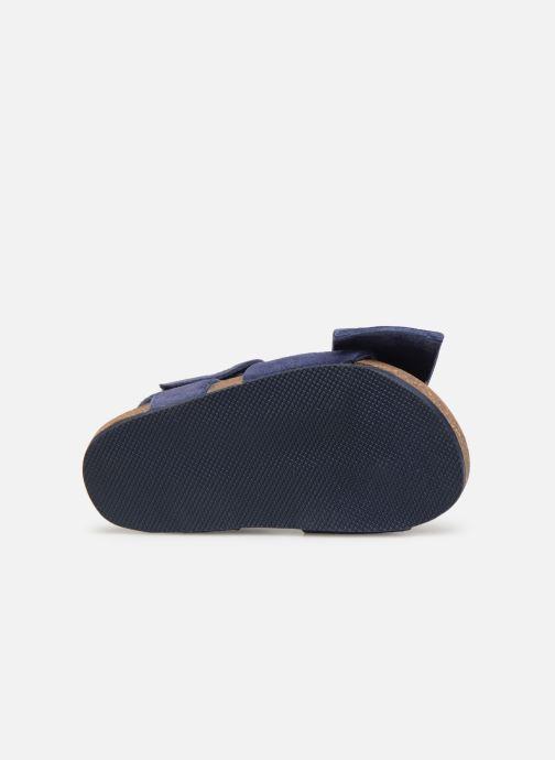 Sandales et nu-pieds CARREMENT BEAU SANDALES NŒUD Y99038 Bleu vue haut