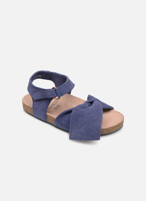 Sandales et nu-pieds CARREMENT BEAU SANDALES NŒUD Y99038 Bleu vue détail/paire