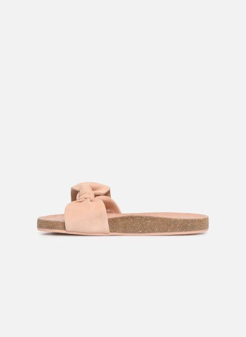 Sandales et nu-pieds CARREMENT BEAU CLAQUETTE Y19039 Rose vue face