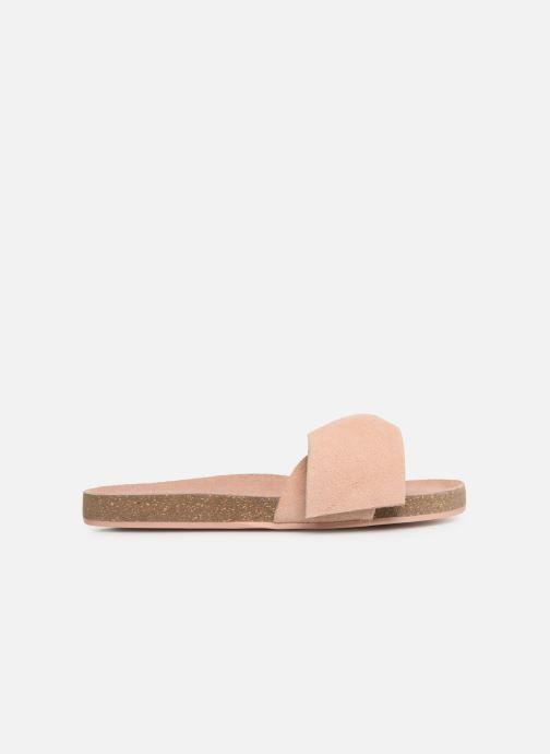 Sandales et nu-pieds CARREMENT BEAU CLAQUETTE Y19039 Rose vue derrière