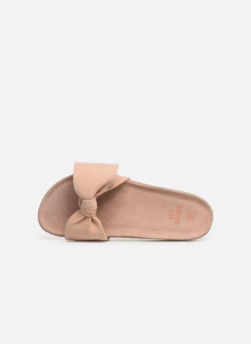 Sandales et nu-pieds CARREMENT BEAU CLAQUETTE Y19039 Rose vue gauche