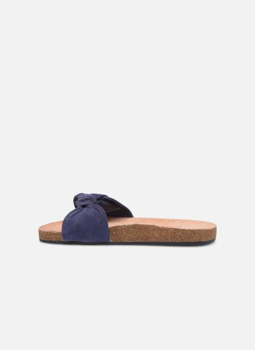 Sandales et nu-pieds CARREMENT BEAU CLAQUETTE Y19039 Bleu vue face