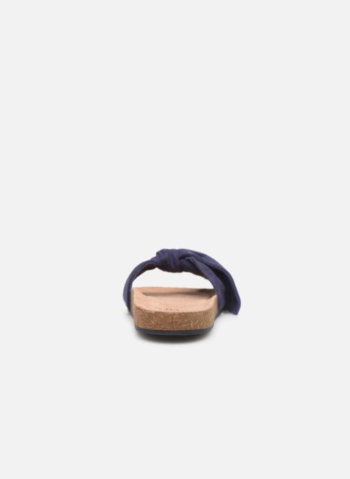 Sandales et nu-pieds CARREMENT BEAU CLAQUETTE Y19039 Bleu vue droite