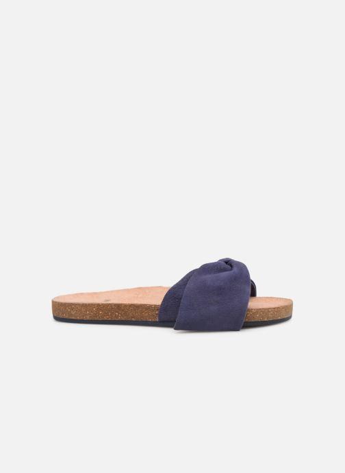 Sandales et nu-pieds CARREMENT BEAU CLAQUETTE Y19039 Bleu vue derrière