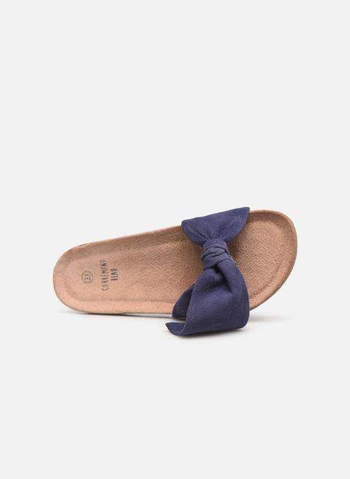 Sandales et nu-pieds CARREMENT BEAU CLAQUETTE Y19039 Bleu vue gauche