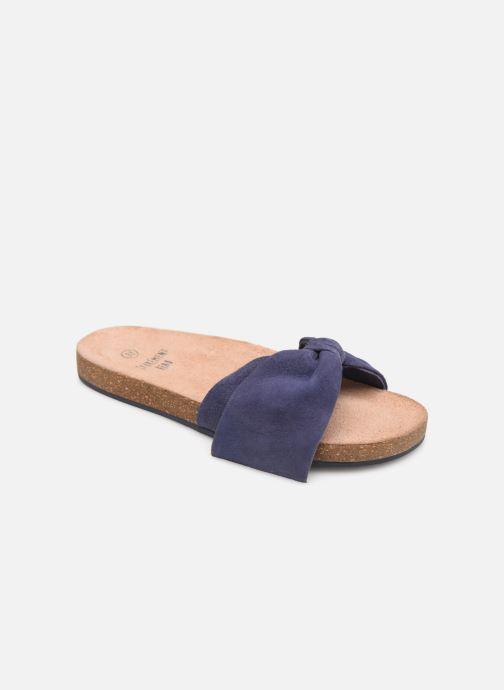 Sandales et nu-pieds CARREMENT BEAU CLAQUETTE Y19039 Bleu vue détail/paire