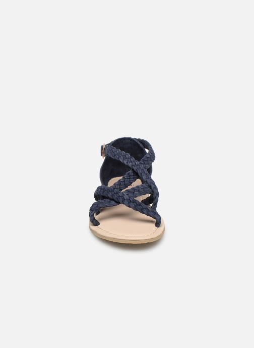 Sandalen CARREMENT BEAU SANDALES CORDE Y19037 blau schuhe getragen