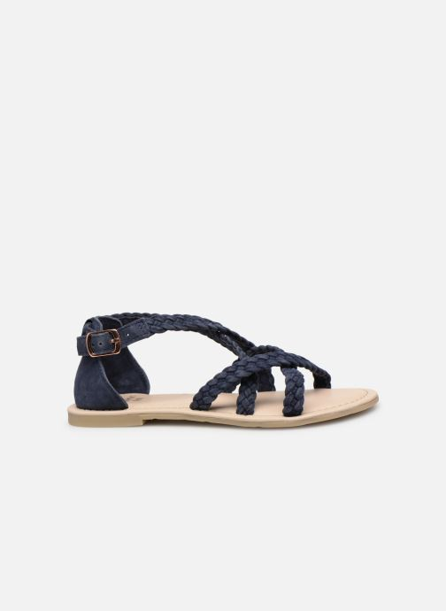 Sandales et nu-pieds CARREMENT BEAU SANDALES CORDE Y19037 Bleu vue derrière