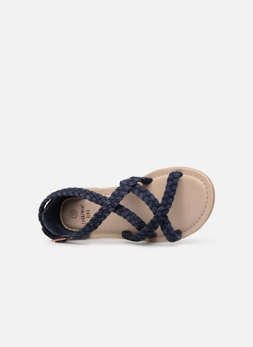 Sandales et nu-pieds CARREMENT BEAU SANDALES CORDE Y19037 Bleu vue gauche