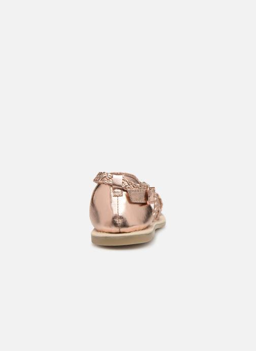 Sandaler Carrement Beau SANDALES CORDE Y19037 Pink Se fra højre