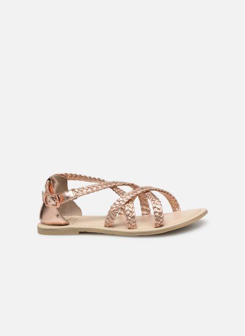 Sandales et nu-pieds CARREMENT BEAU SANDALES CORDE Y19037 Rose vue derrière