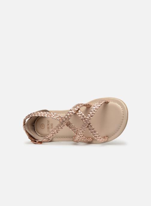 Sandales et nu-pieds CARREMENT BEAU SANDALES CORDE Y19037 Rose vue gauche
