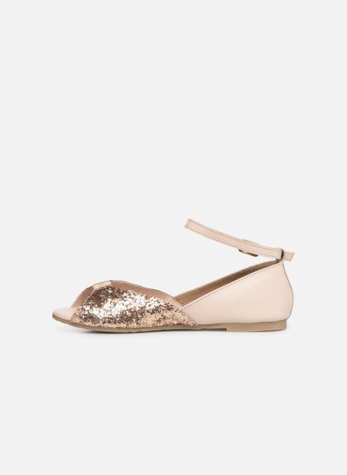 Sandales et nu-pieds CARREMENT BEAU SANDALES BRILLANT Y19033 Rose vue face