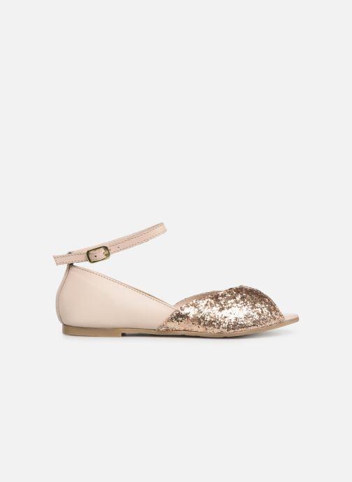 Sandales et nu-pieds CARREMENT BEAU SANDALES BRILLANT Y19033 Rose vue derrière