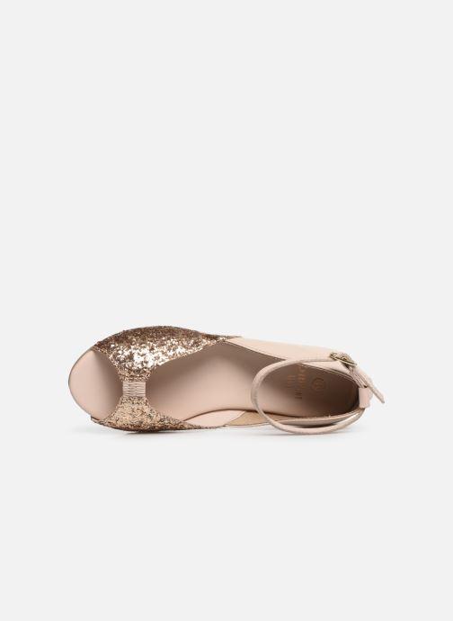Sandales et nu-pieds CARREMENT BEAU SANDALES BRILLANT Y19033 Rose vue gauche