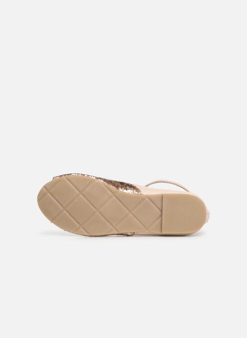 Sandales et nu-pieds CARREMENT BEAU SANDALES BRILLANT Y19033 Rose vue haut