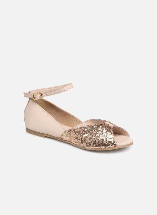 Sandales et nu-pieds CARREMENT BEAU SANDALES BRILLANT Y19033 Rose vue détail/paire