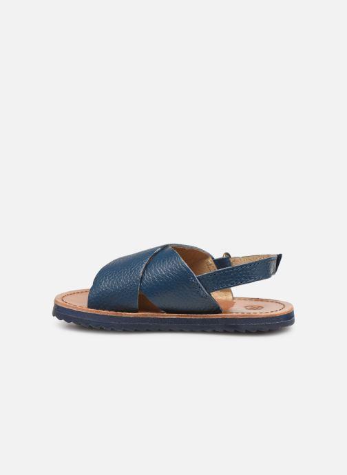 Sandales et nu-pieds CARREMENT BEAU SANDALES Y99040 Bleu vue face
