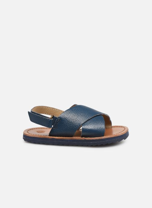 Sandalen CARREMENT BEAU SANDALES Y99040 blau ansicht von hinten