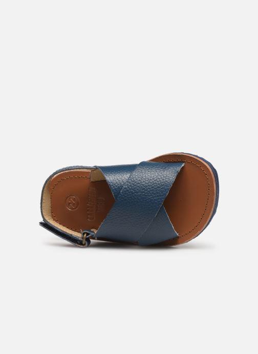 Sandales et nu-pieds CARREMENT BEAU SANDALES Y99040 Bleu vue gauche