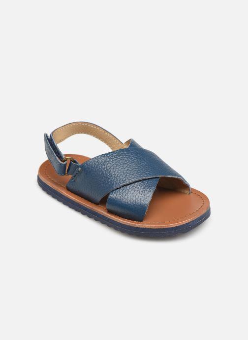 Sandales et nu-pieds CARREMENT BEAU SANDALES Y99040 Bleu vue détail/paire