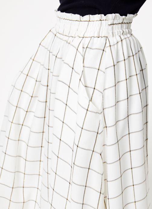 Frnch Ellyne Frnch VêtementsJupes Blanc carreaux Ellyne nOkP0w