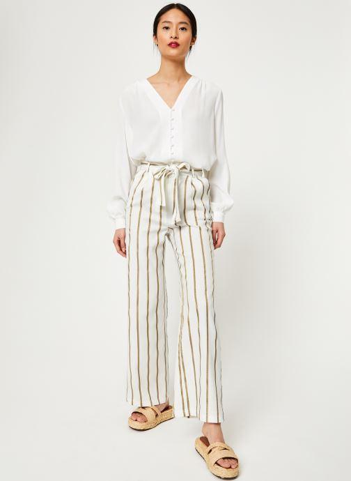 Vêtements Frnch PATSY Blanc vue bas / vue portée sac