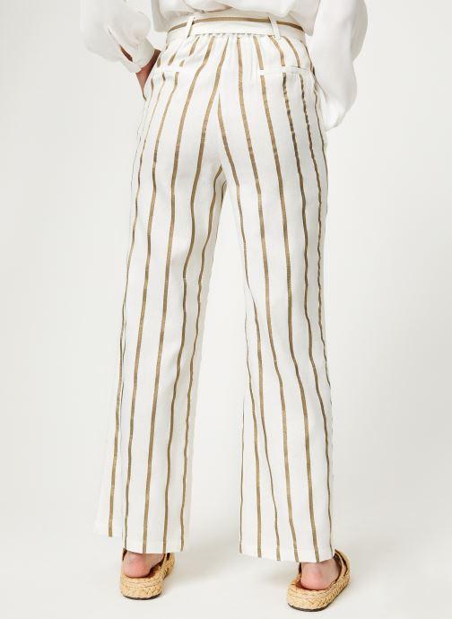 Vêtements Frnch PATSY Blanc vue portées chaussures
