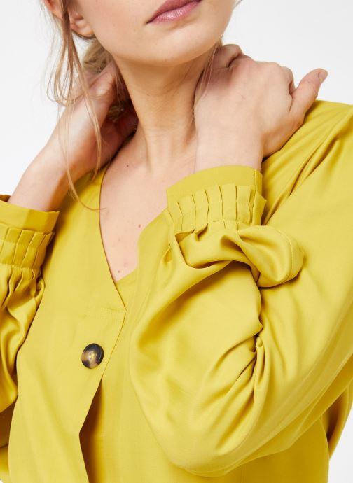 Kläder Frnch CRESTINA Gul bild från framsidan